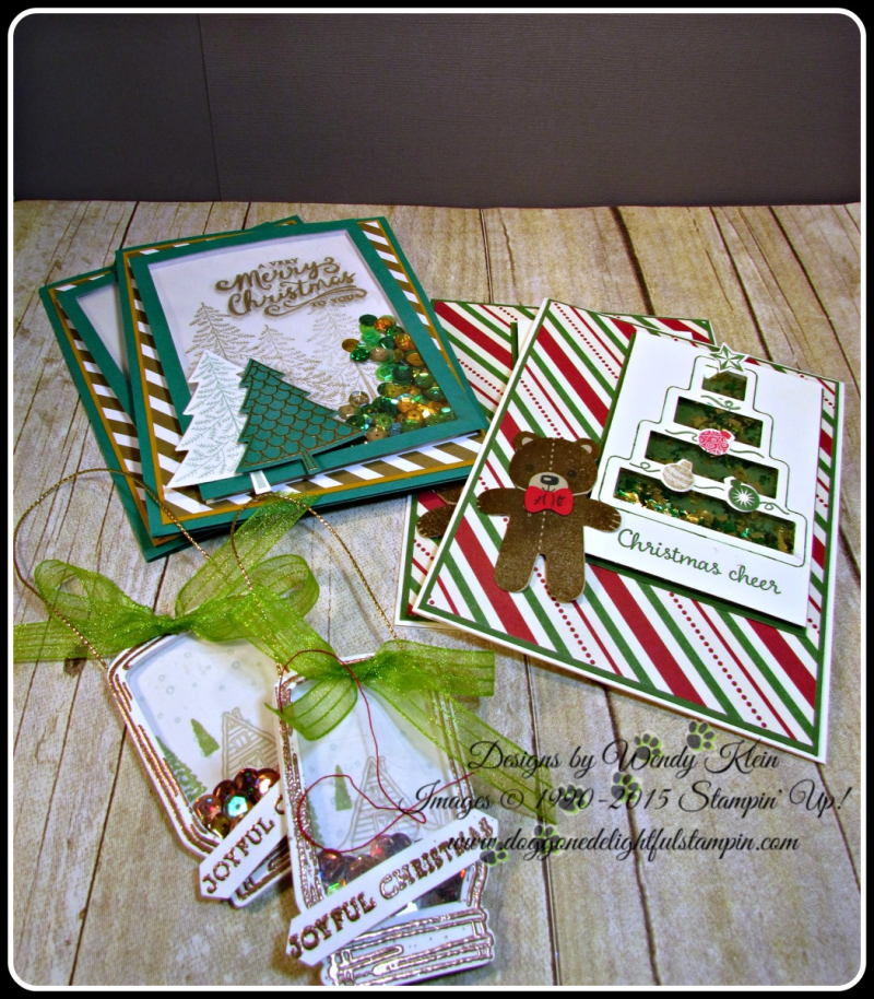 Shaker Cards & Ornaments (1)