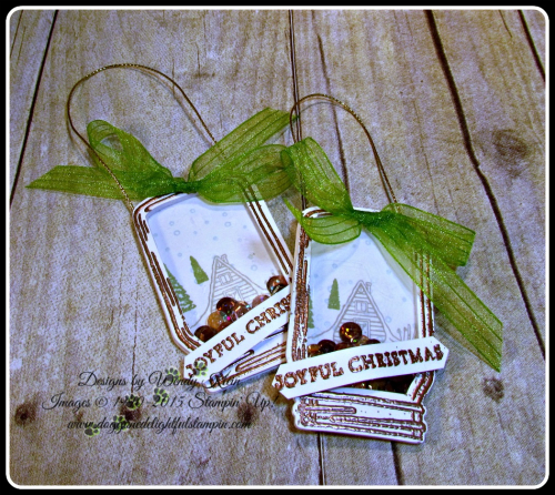 Shaker Cards & Ornaments (5)