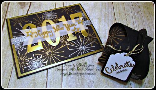 It's a Celebration, Frosted Medallions, Large Number Framelits, Curvy Keepsake Box, Tags & Labels (5)