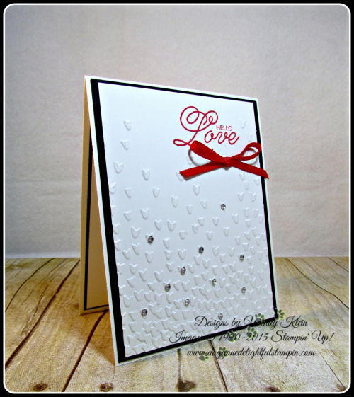 Sealed With Love, Falling Petals TIEF, Sending Love Ribbon combo in Real Red, Rhinestones (2)