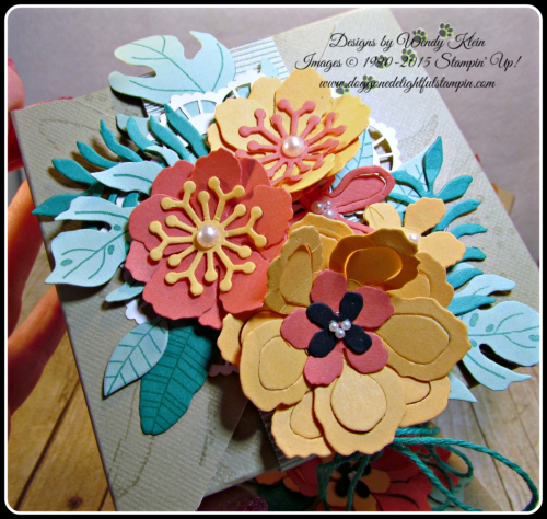 Botanical Blooms & Builders framelits, Touches of Texture, Painters Palette, Gift Box Punch Board (6)