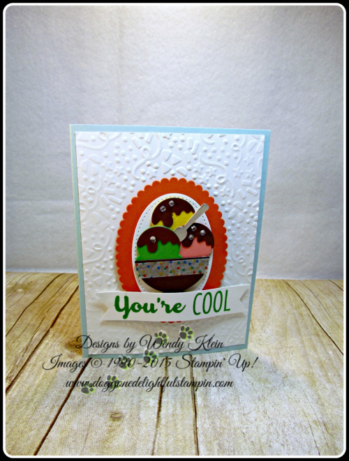 Cool Treats, Confetti TIEF, Layering Ovals framelits, Stitched Shapes Framelits, Frozen Treats framelits, Banner Triple Punch (1)