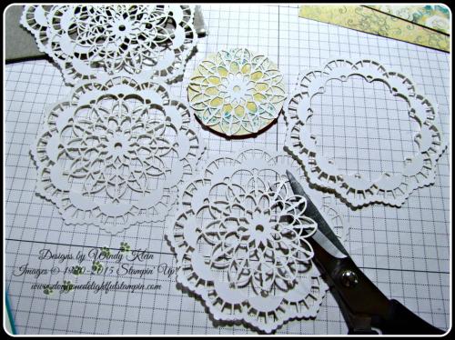 Lace Doily Stampin Technique (2)