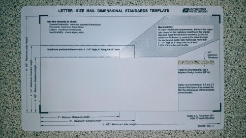 Mailingmeasurementrequirements