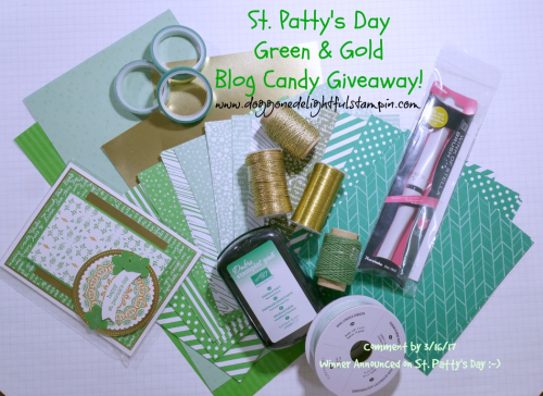 St Pattys Day Blog Candy Giveaway