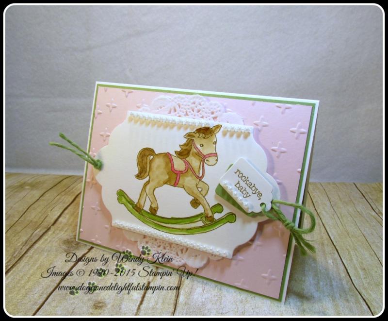 Little Cuties  Sparkle TIEF  Lots of Label Framelits  Tags & Labels Framelits  Wendy Klein  Stampin Up (6)