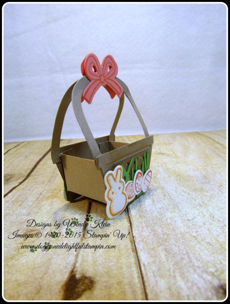 Mini Easter Basket - Basket Bunch  Basket Builder Framelits (10