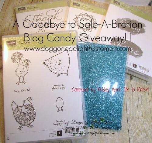 SAB Blog Candy Giveaway