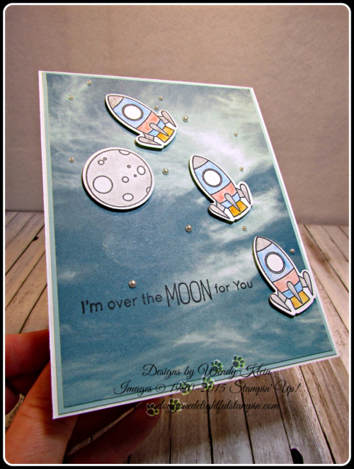 MFT Space Explorer  Serence Scenery DSP  Watercolor Pencils  Pearls (5)
