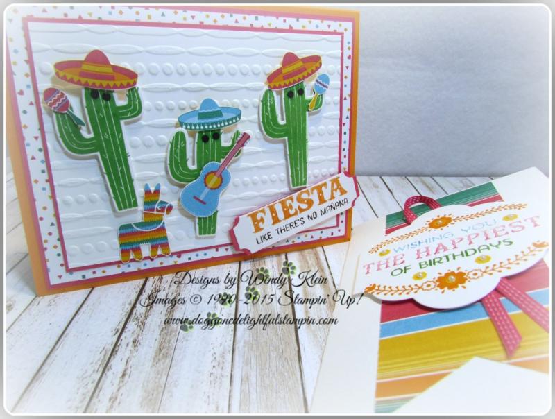 Birthday Fiesta  Fiesta Time Framelits  Festive TIEF  Triple Banner Punch  Lots of Labels Framelits (2)