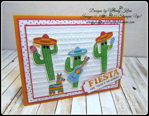 Birthday Fiesta  Fiesta Time Framelits  Festive TIEF  Triple Banner Punch  Lots of Labels Framelits (3)