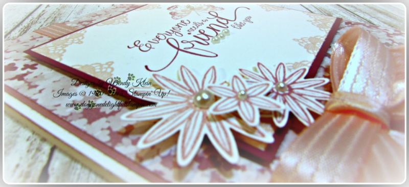 Grateful Bunch  Suite Sentiments  Blossom Bunch Punch  Blooms & Bliss DSP  Blushing Bride Satin Ribbon  Pearls (5)