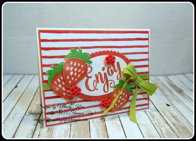 Fresh Fruit  Everyday Tags  Sweet Cupcake  Layering Ovals  Wink if Stella  In Color (1)