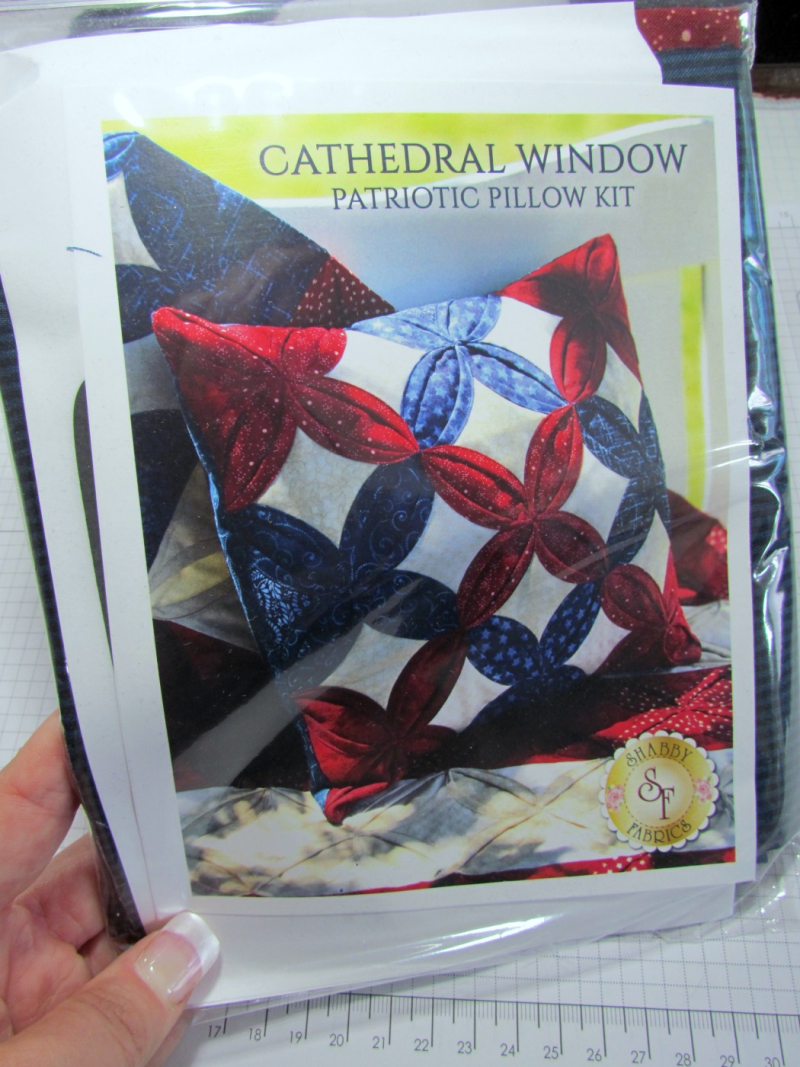 Patriotic Pillow Kit