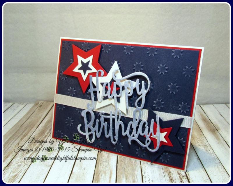 Happy Birthday thinlit  Oh My Stars TIEF  Stars framelits  Confetti Celebration  Whisper White classic weave ribbon (7)