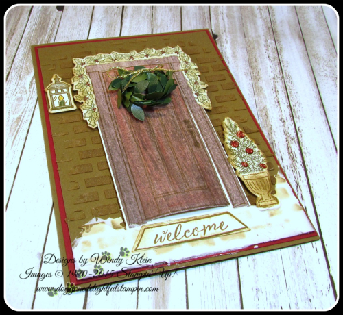 At Home With You  At Home Framelits  Embossing Paste  Wood Textures DSP  Boxwood Wreaths - 3