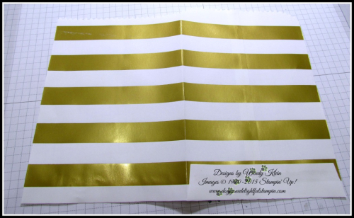 Striped Treat Bag How To - 2