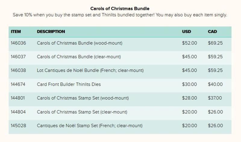 Carols of Christmas bundle