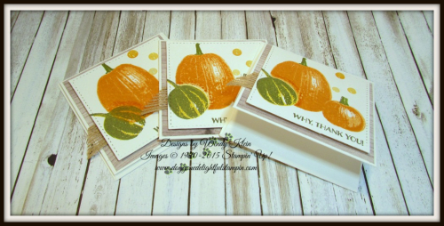 Gourd Goodness  Wood Textures DSP  Stitched Shapes Framelits  Burlap Ribbon  Glitter Enamel Dots - 1