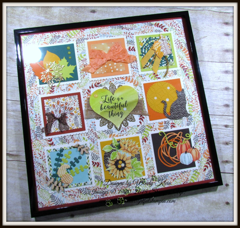 Painted Harvest Colorful Seasons Sampler - 1