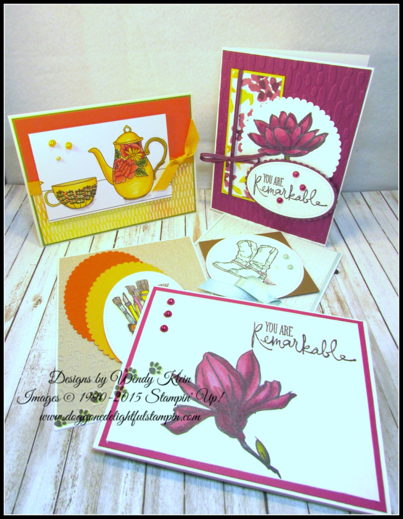 Coloring with Stampin Blends by Wendy Klein - 1