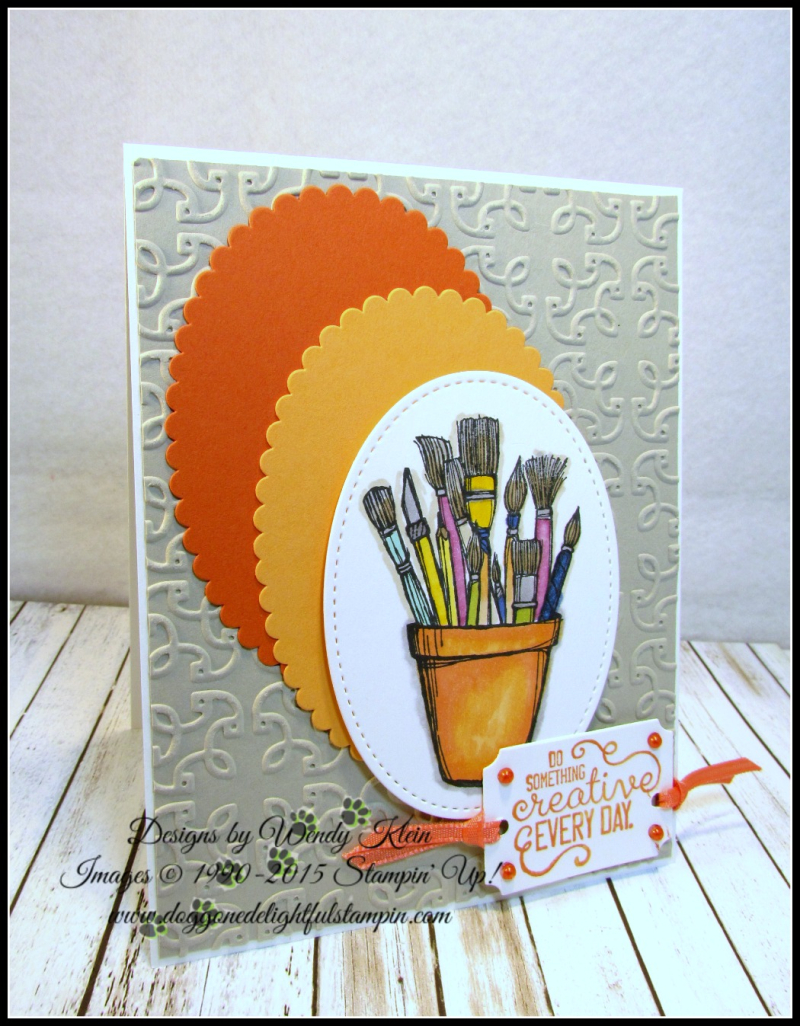 Coloring with Stampin Blends by Wendy Klein - 4