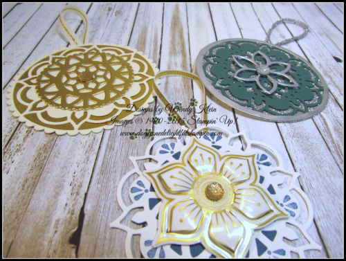 Eastern Medallions Ornaments - 6