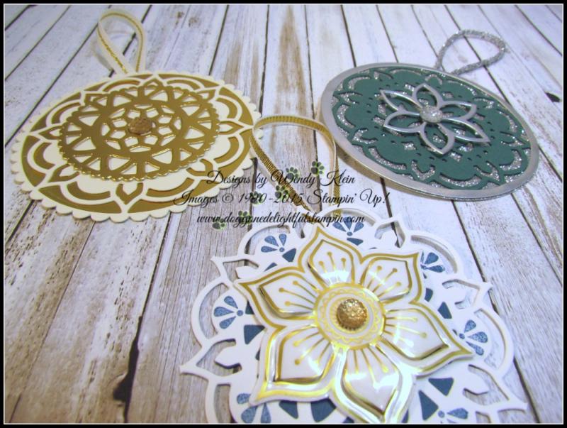 Eastern Medallions Ornaments - 6