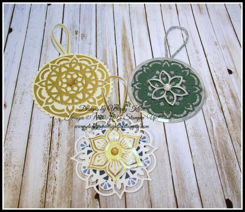 Eastern Medallions Ornaments - 1