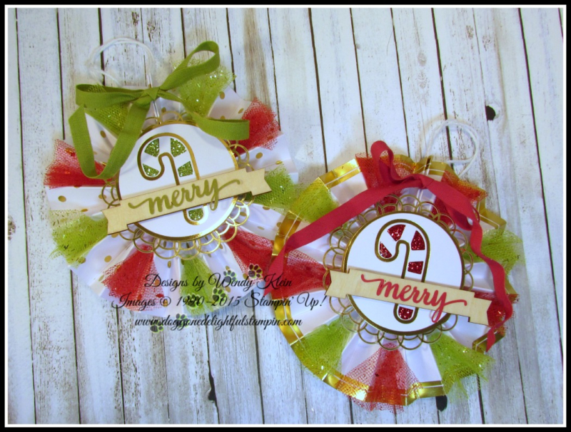 Be Merry Ornaments - 4