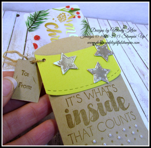 Trim Your Stocking  Tags & Trimmings - 4