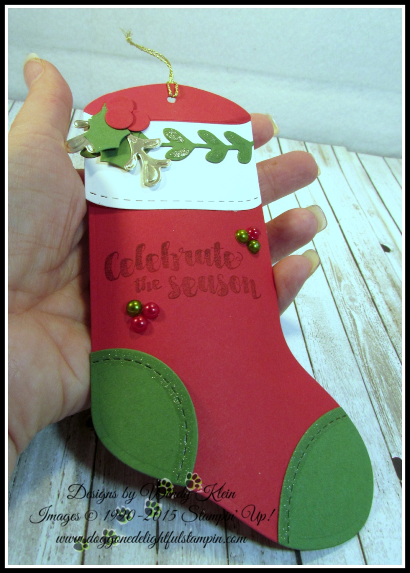 Trim Your Stocking  Tags & Trimmings - 5