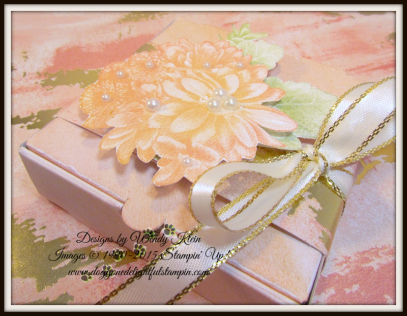 Heartfelt Blooms  Pizza Box  3 x 3 notecards  Painted With Love SDSP - 2