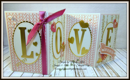 Sure Do Love You  Lots to Love Box Framelits  Large Letters Framelits  Stitched Shapes Framelits  Layering Ovals Framelits  Bundle of Love SDSP  Painted With Love SDSP - 1