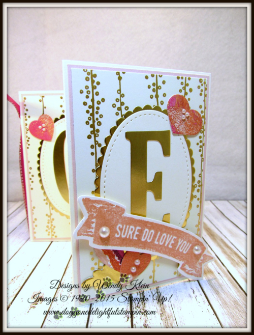 Sure Do Love You  Lots to Love Box Framelits  Large Letters Framelits  Stitched Shapes Framelits  Layering Ovals Framelits  Bundle of Love SDSP  Painted With Love SDSP - 5