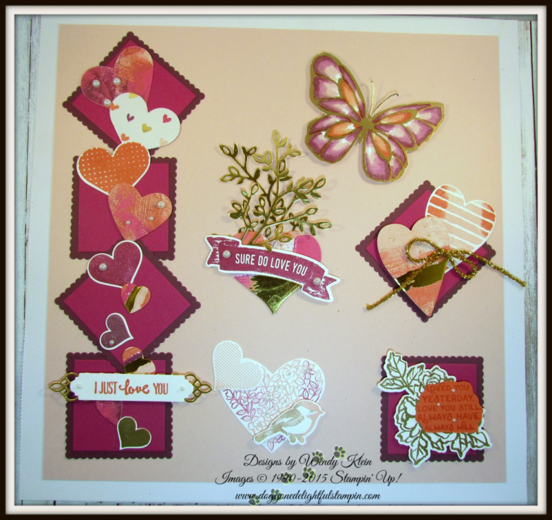Sure Do Love You Valentine's Sampler - 2