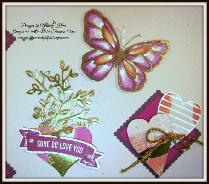 Sure Do Love You Valentine's Sampler - 5