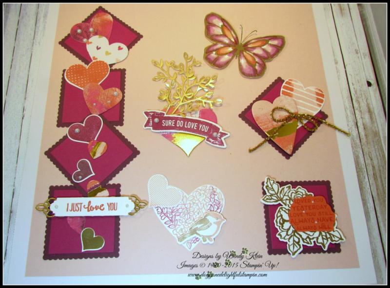 Sure Do Love You Valentine's Sampler - 1
