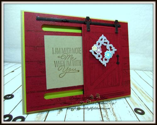 Barn Door Bundle  This Little Piggy  Hardwood  Layering Love - 2