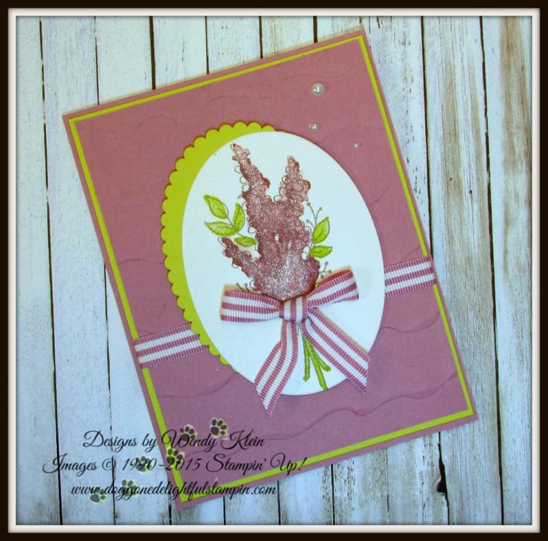 Lots of Lavender  Ruffled Dynamic TIEF  Layering Ovals Framelits  Sweet Sugarplum In Color - 3