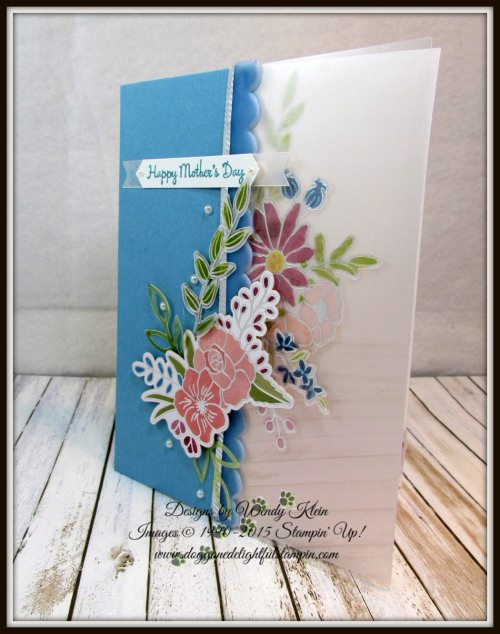 Sweet Soiree Embellishment Kit  Vellum  Window Sheet  Classic Label Punch  Stampin Blends  Pearls - 1