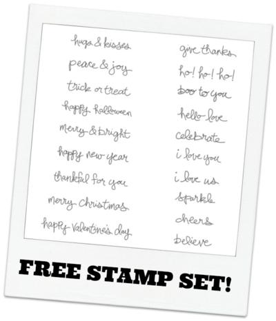 Good Greetings Stamp Set
