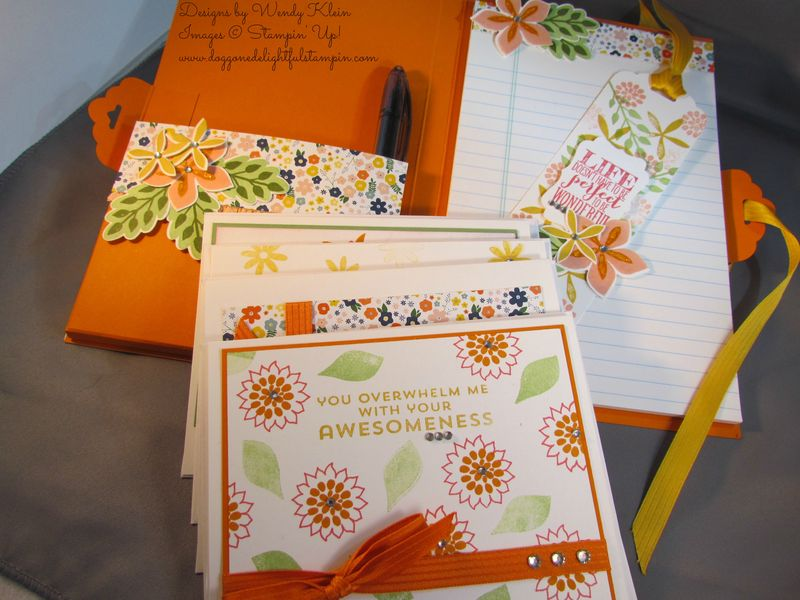 Flower Patch Notepad (5)