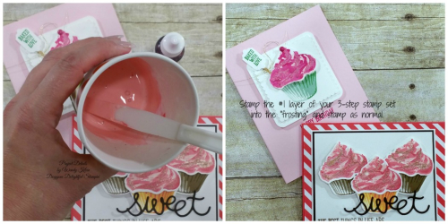 Stamping Frosting Collage