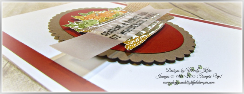 Basket of Wishes, Layering Ovals, Burlap Ribbon, Pearls (5)