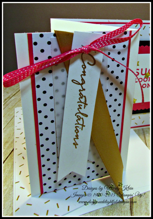 Floral Phrases, Suite Sayings, Layering Squares, Gold Accents (3)
