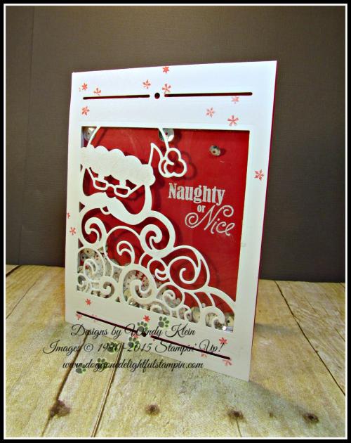 Greetings from Santa, Detailed Santa Thinlits, Wink of Stella (2)