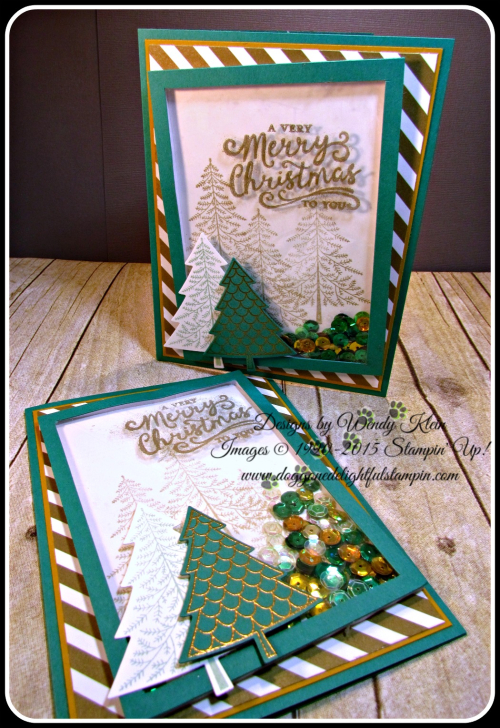 Shaker Cards & Ornaments (4)