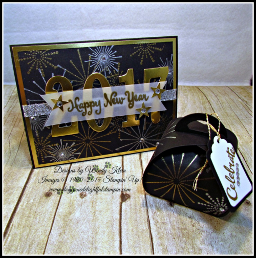 It's a Celebration, Frosted Medallions, Large Number Framelits, Curvy Keepsake Box, Tags & Labels (1)