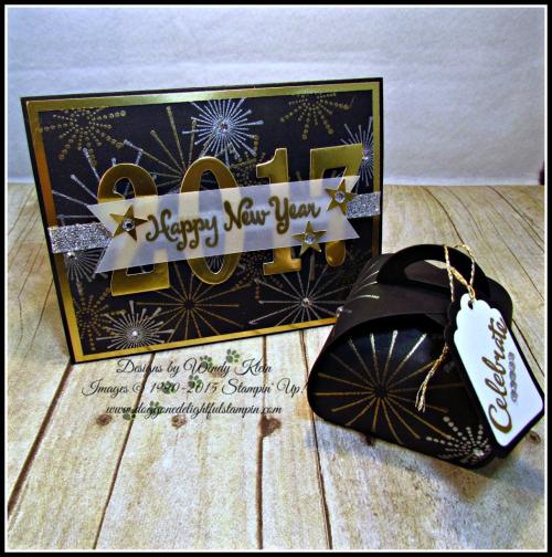 It's a Celebration, Frosted Medallions, Large Number Framelits, Curvy Keepsake Box, Tags & Labels (1)